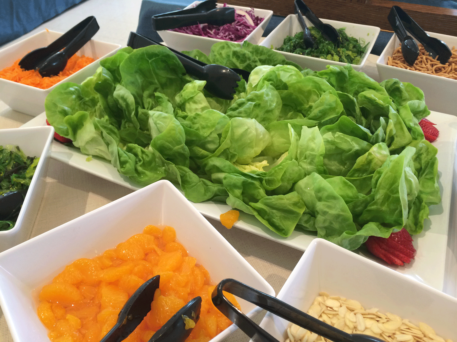 Asian lettuce wrap condiments
