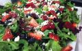 Strawberry & goatcheese salad